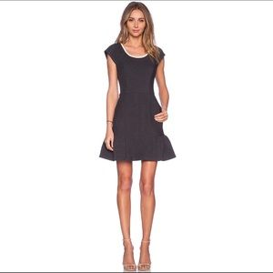Revolve's harlyn Cut-Out Back Fit & Flare Dress M
